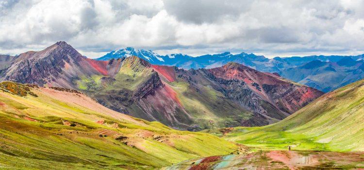 Vinicunca, Montana de Siete Colores or Rainbow Mountain, Pitumarca, Peru