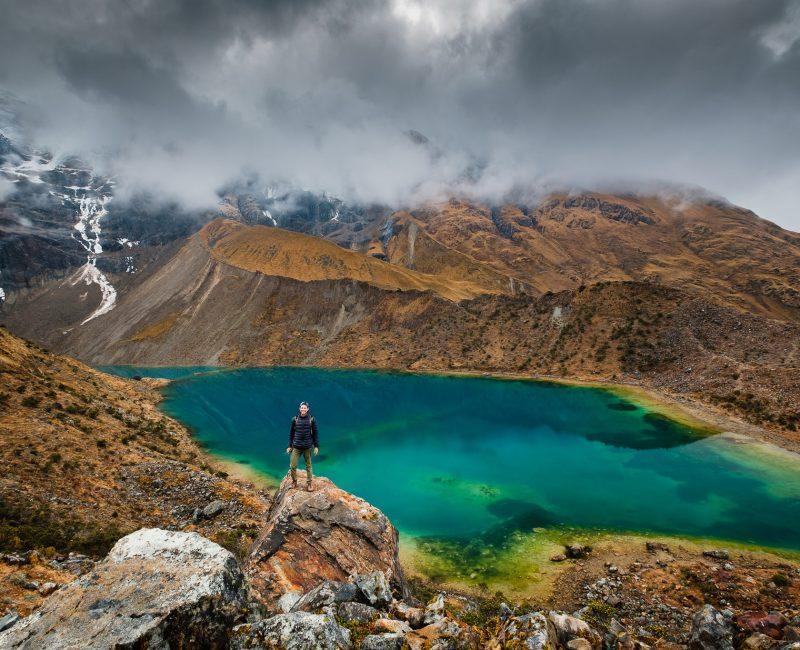 Humantay glacier La Laguna Humantay